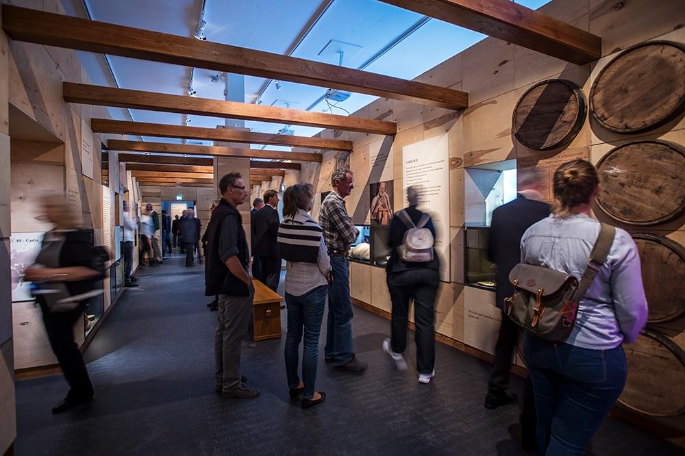 Bild från utställningen Resenärerna